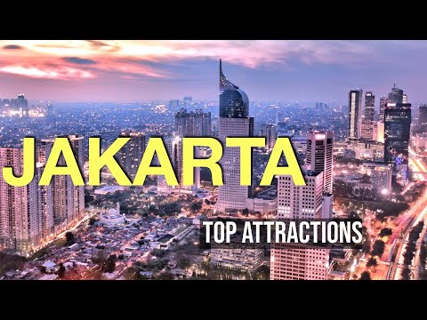Jakarta, Indonesia (Top Attractions in 4K) || Travel Buddies Films ||