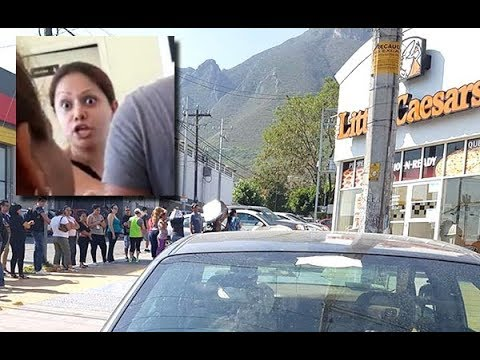 'Lady Pizza' hace gran escándalo en Little Caesars por perder promoción #LadyPizza - Hora Cero Web