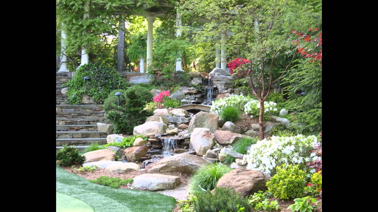 Small garden waterfall ideas - YouTube on Waterfall Ideas For Garden id=86625