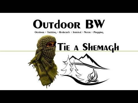 How To Tie a Shemagh: in Winter Conditions – TEST Video – Outdoor BW