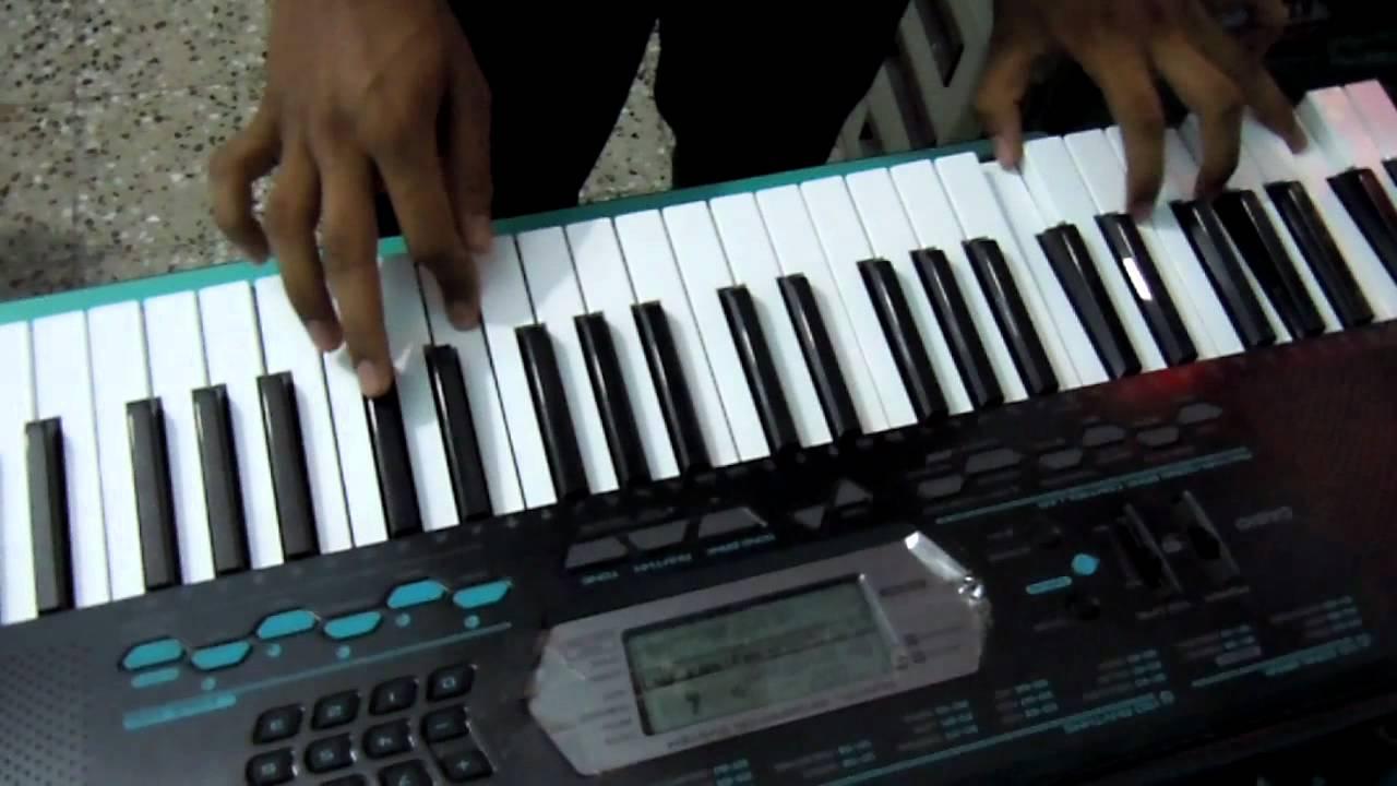 Main Jahan Rahoon On Keyboard Youtube