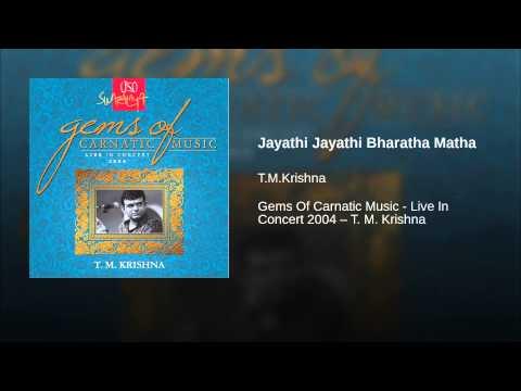 Jayathi Jayathi Bharatha Matha