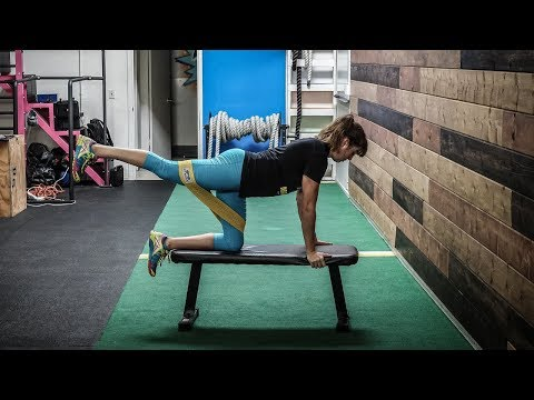 The best 21 glute exercises using only resistance bands