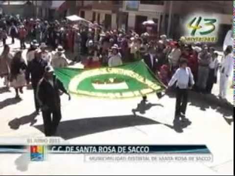 Día Central por el 43 Aniversario de Santa Rosa de Sacco