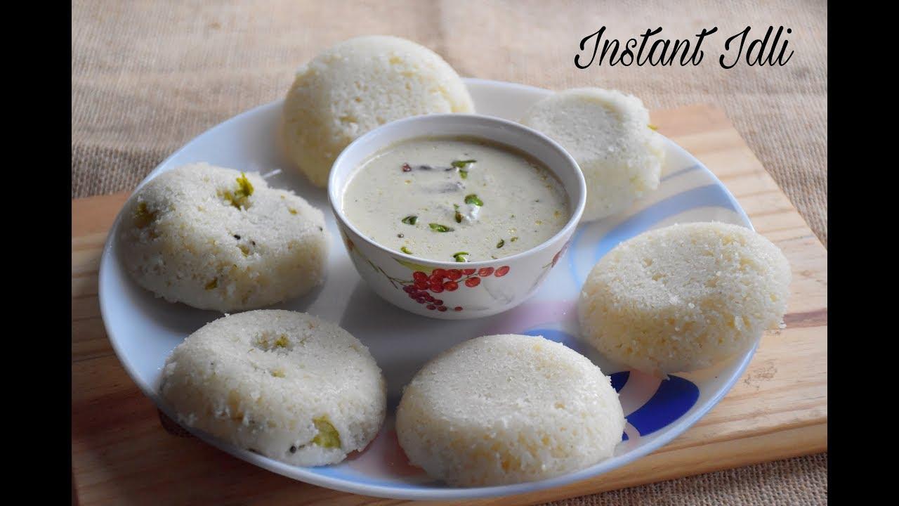 Instant Idli Recipe Without Idli Stand Instant Rava Idli Soft And Spongy South Indian Idli 396