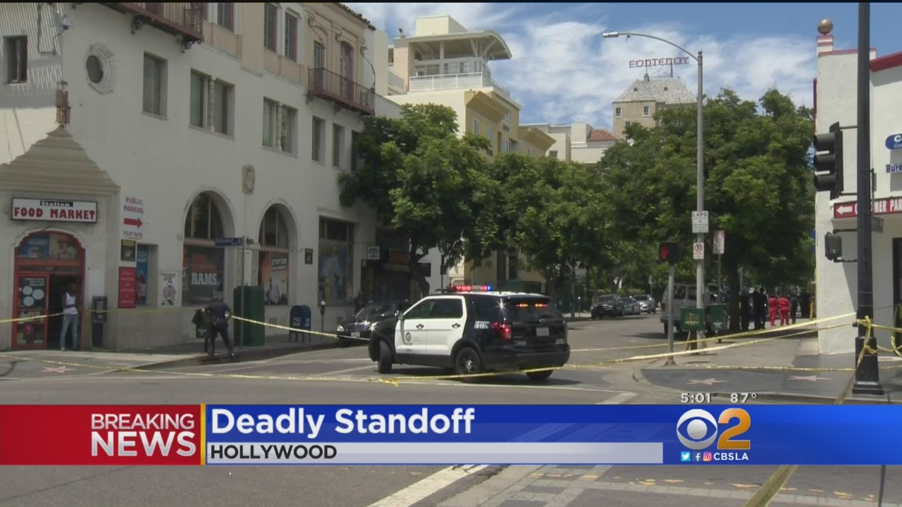 Hollywood Motel Assault Suspect Dead Following Barricade Situation At Hollywood Motel