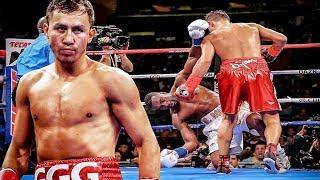 Самый редкий удар в истории бокса! Коронный удар Геннадия Головкина.