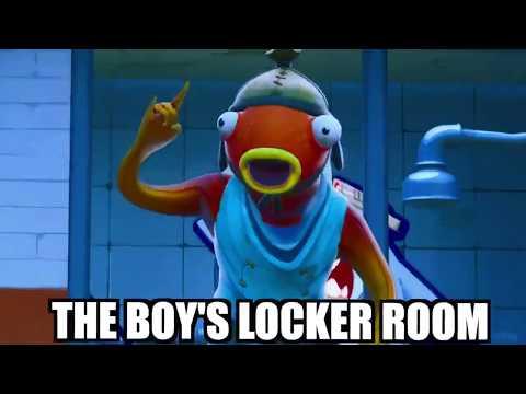 Boys Locker Room Vs Girls Locker Room In Fortnite