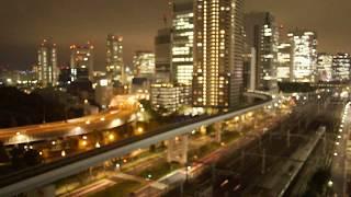 【長尺】雷雨 Thunderstorm 18/8/27 Tokyo Live Camera ch1 東京 汐留 ライブカメラ