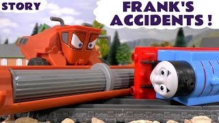 Disney Cars Toys Frank causes Thomas and Friends Accidents Fun Family Kids Accident Toy Story