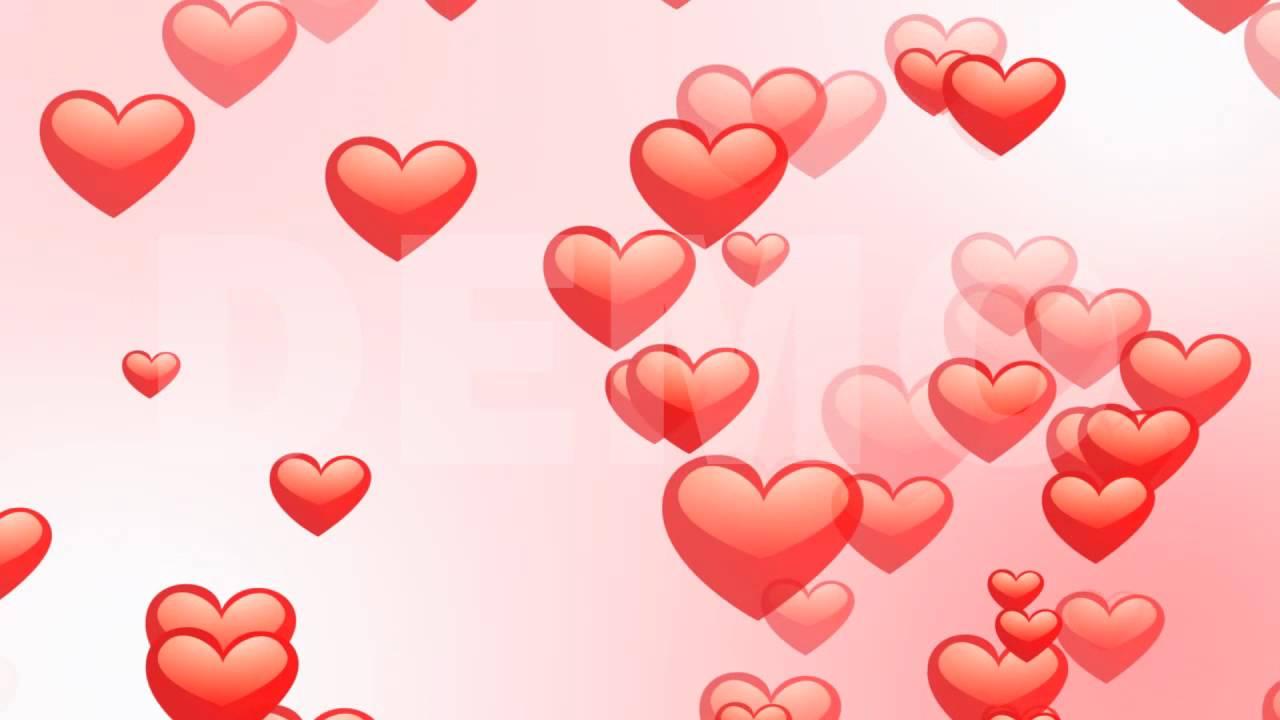 Valentines Hearts Loop Youtube