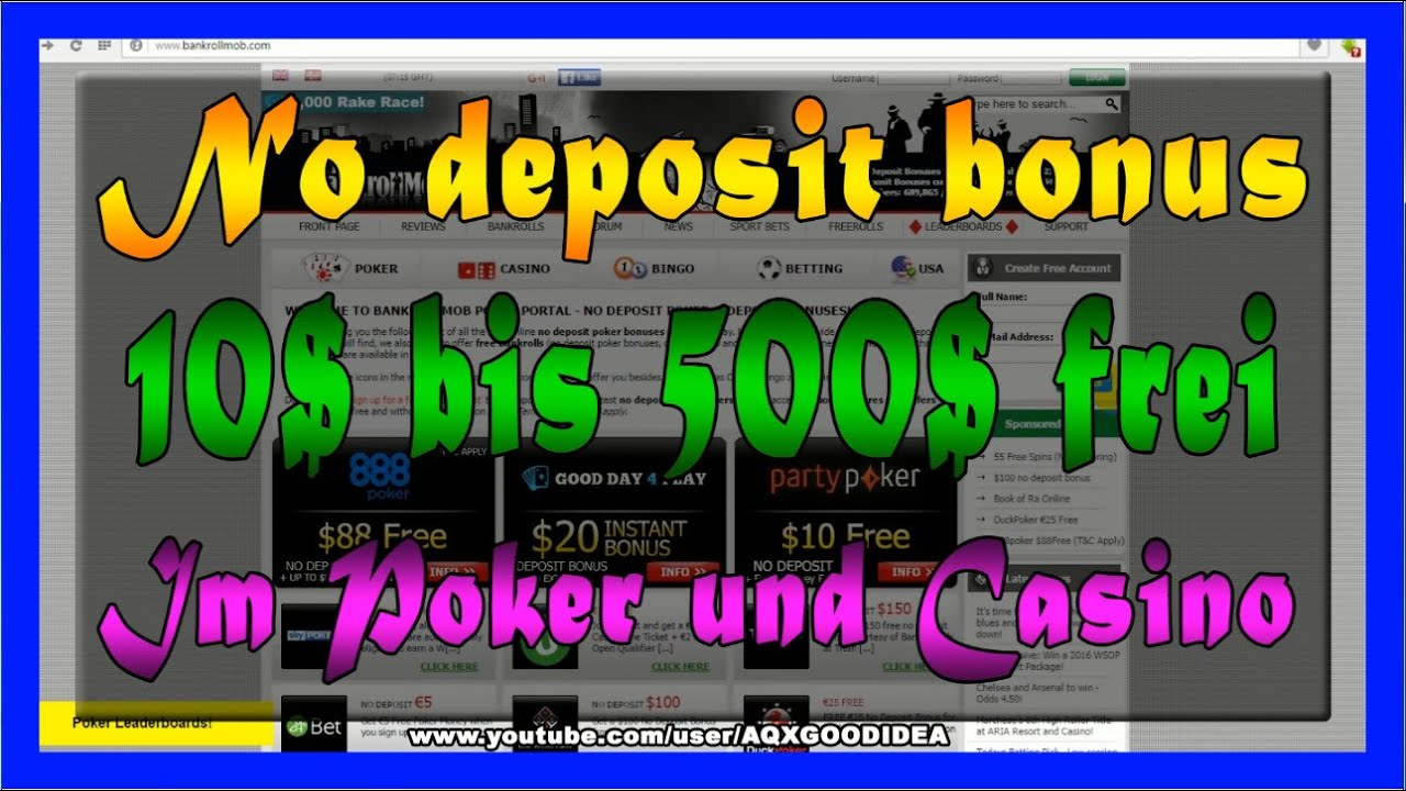 Online Casino No Deposit Deutsch