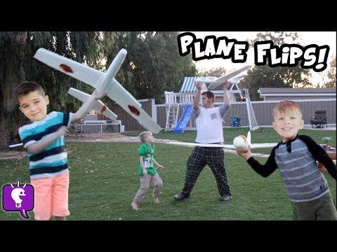 High Flying SKYRIDER AIRPLANES by HobbyKidsTV