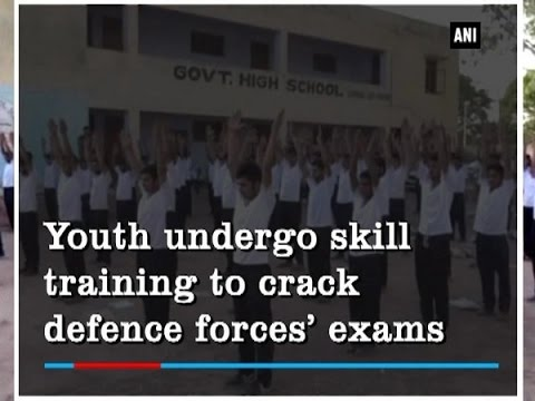 Youth undergo skill training to crack defence forces' exams - Jammu and Kashmir News