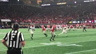 Tua Tagovailoa hits DeVonta Smith for the game-winner