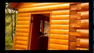 Баня из осины 6:3(Баня большая, просторная с террасой и зоной отдыха., 2016-01-15T15:40:01.000Z)