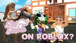 """Playing """"Star Stable"""" in Roblox! 🐴"""