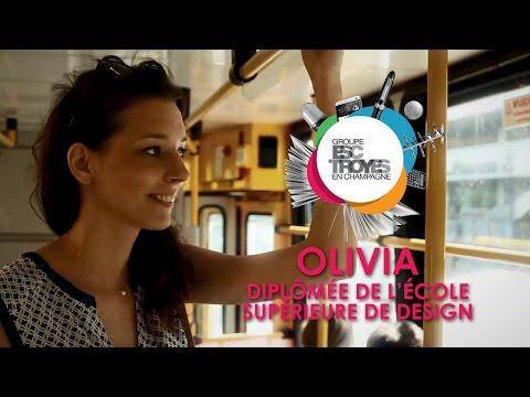Olivia Zuk - Diplômée de l'École Supérieure de Design
