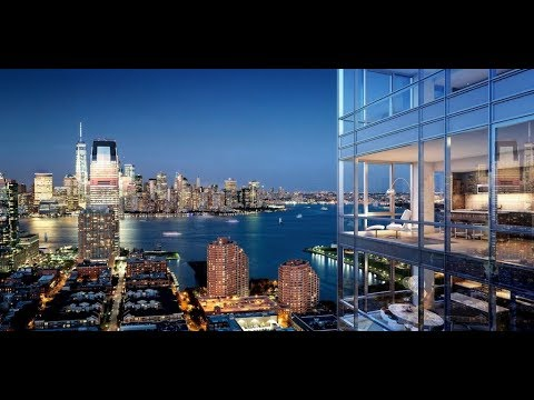 Quick Tour of New Luxury Apartment in Jersey City