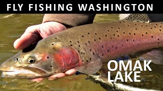 Fly Fishing Omak Lake, WA Colville Reservation in March: Trailer for Amazon Video Season 8