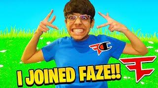 RICH KID Joined FaZe Clan! (FaZe N3ON)