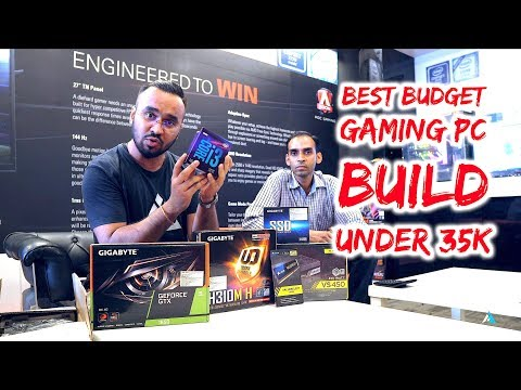 HINDI] Best Budget Gaming PC build under 35000 Rupees in