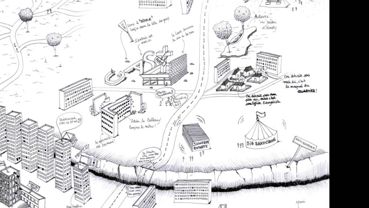 Quartier de maurepas rennes vu en dessin youtube - Dessin de rennes ...