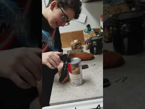 Tony Sandoval on The Breeze - WATCH: Teenager CAN'T figure out how to use a Can Opener.