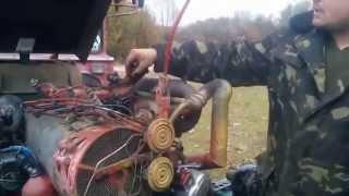 Установка момента впрыска на тракторе (Т-40, Т-25...)(Видео о процессе установки момента впрыска на дизельном двигателе Д-144 (Т-40) Выставление по меткам, запуск..., 2015-11-04T04:02:51.000Z)