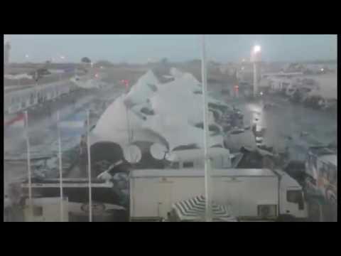 Extreme downburst  - Uruguay