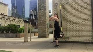 TRX Monday Move | TRX Crossing Balance Lunge