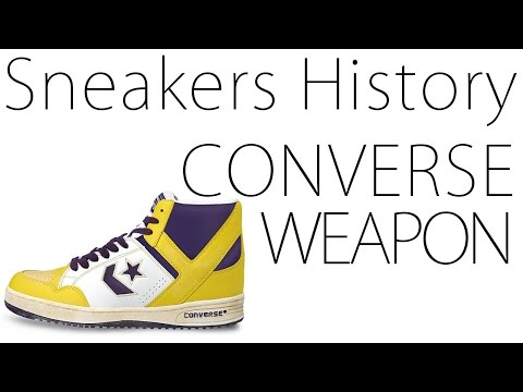 【スニーカー】Sneakers History #16/CONVERSE WEAPON