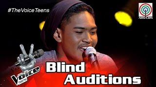the voice teens philippines blind audition carlos navea one dance