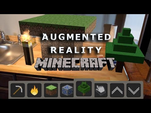 Apple ArKit Augmented Reality MINECRAFT