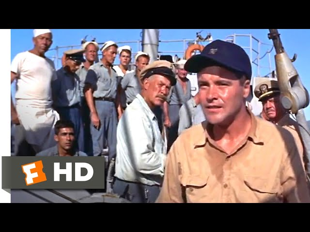 Mister Roberts (1955) - Pulver Takes a Stand Scene (10/10) | Movieclips