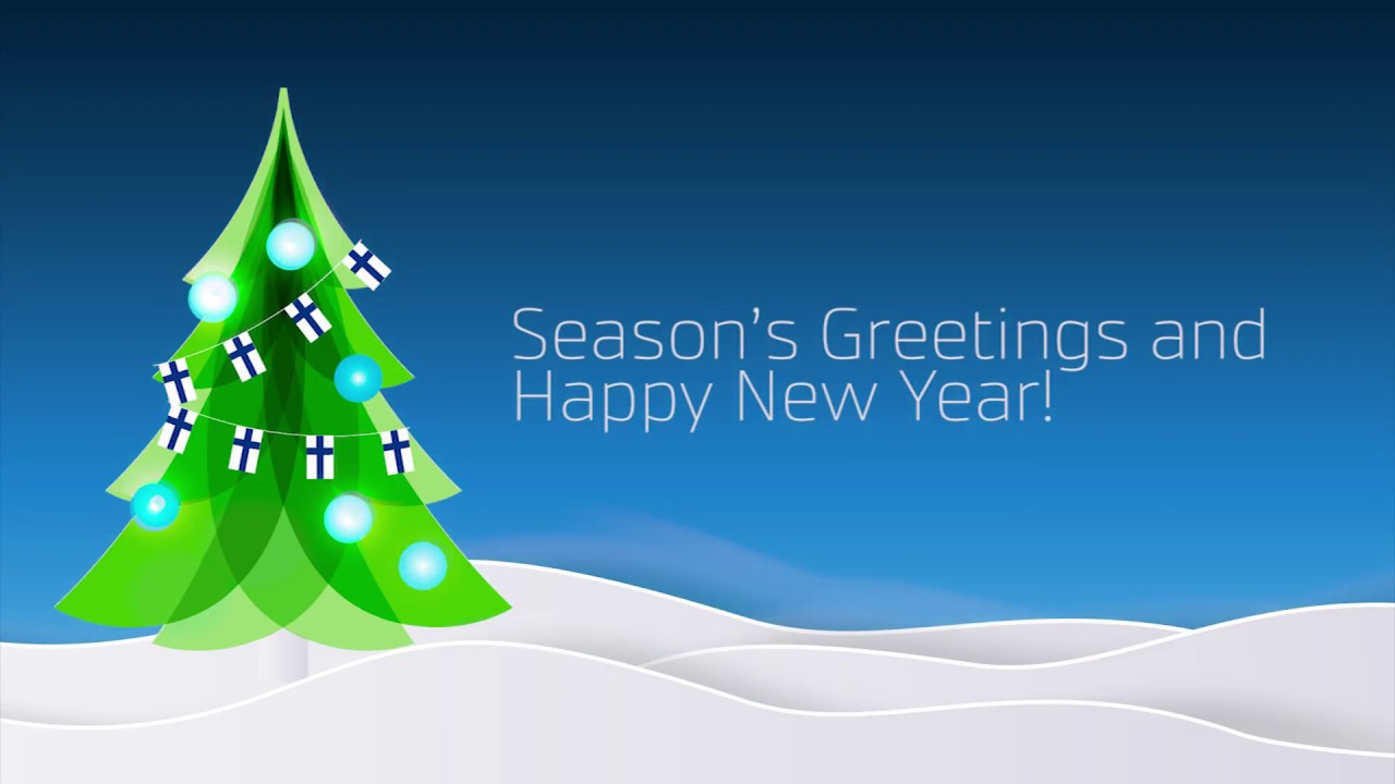 seasons greetings and happy new year 2018