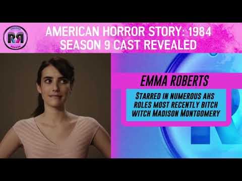 'American Horror Story: 1984' Season 9 Cast Revealed! // Recap Rundown