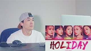 Secret Number (시크릿넘버) - 'Holiday' | REACTION