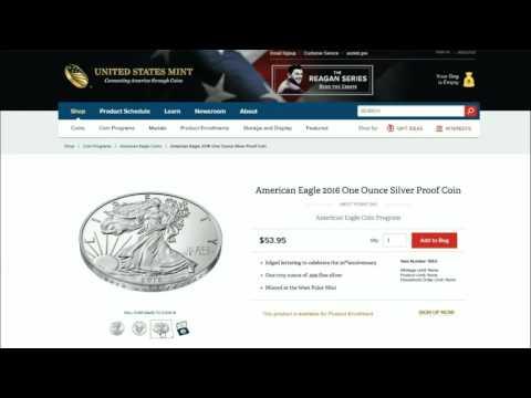 2016 Anniversary Proof Silver Eagle: BLAH!! BLAH!!! BLAH!!!