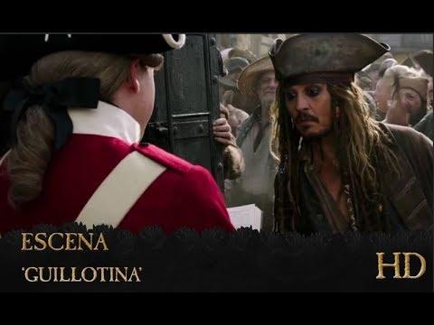 Piratas Del Caribe La Venganza De Salazar Escena Guillotina Hd