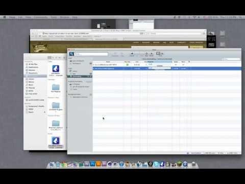 สอนเพื่อนลงเกมใน Mac OS X [HD]