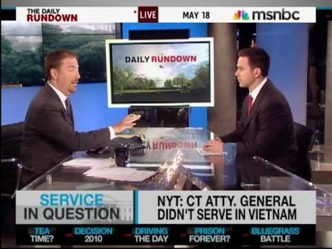 Richard Blumenthal is Not a Vietnam Vet - May 18, 2010
