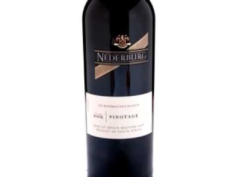 The grape wine club nederburg 2008 pinotage south for Jardin wine south africa