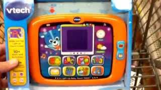 "VTECH ""Light Up Baby Touch Tablet"" Electronic Learning Baby Toy / Toy Review"