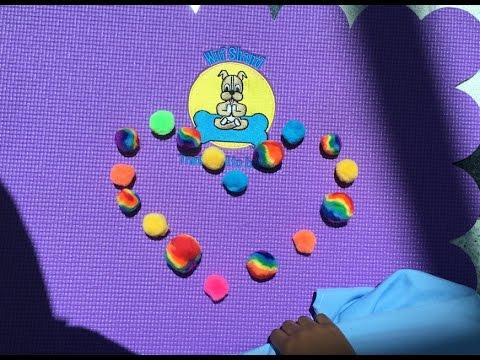 Wuf Shanti TV Show-Toe-ga Game (Yoga and Meditation for Kids)
