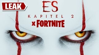 ES X Fortnite LEAK! 🤡🎈 Pennywise Clown Skin? | Fortnite German