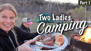 Join Two LADIES CAMPING in Texas - pt1 - Spirit Forest - S4 -Ep#13