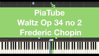 Play Waltzes (3) For Piano, Op. 34, Ct. 208-210