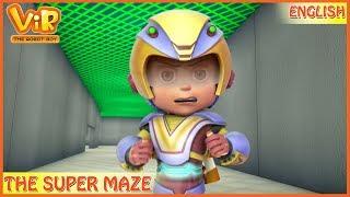 Vir: The Robot Boy   The Super Maze   English Episodes   Action cartoons for Kids   3D cartoons