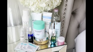 MY CURRENT EVENING SKINCARE ROUTINE!